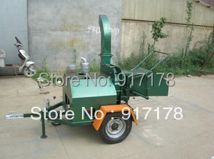 WCS-18HP tailed wood chipper shredder machine