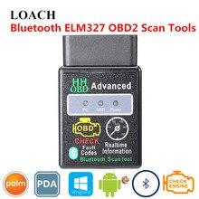 Advanced Smart мини ELM327 HH автомобиля OBD2 может Сканер шины инструмент Bluetooth OBDII интеллектуальные OBD 2 II диагностики чип Android ПЭВМ КПК