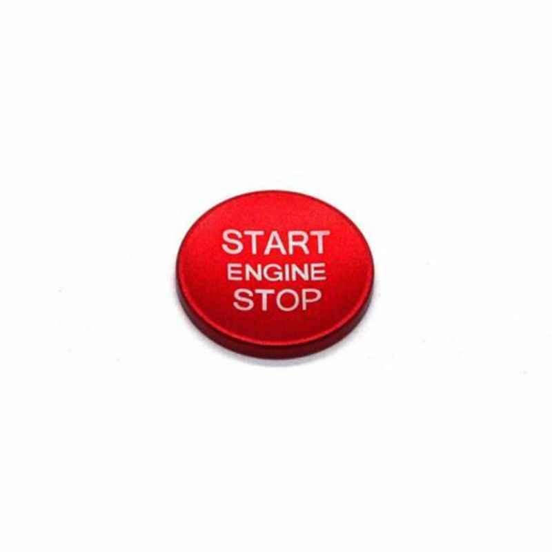 سيارة محرك بداية زر التوقف نظام التصميم غطاء السيارة ملصقات حافظة الخاتم ل إعلان سيارة التصميم ملصقات حافظة الخاتم