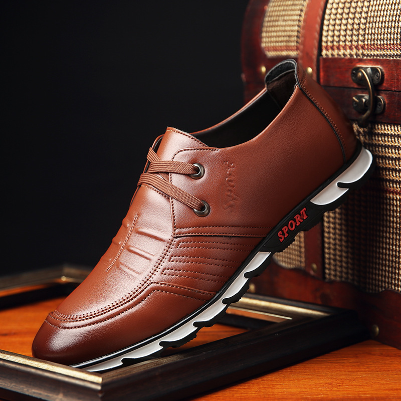 Fashion Lace-Up Leather Shoes