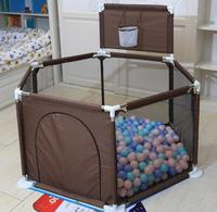 Plastic Fencing Safety BarrierBaby Playpen Portable For Children Folding Baby Safety Fence Barriers For Securitis Ball Pool