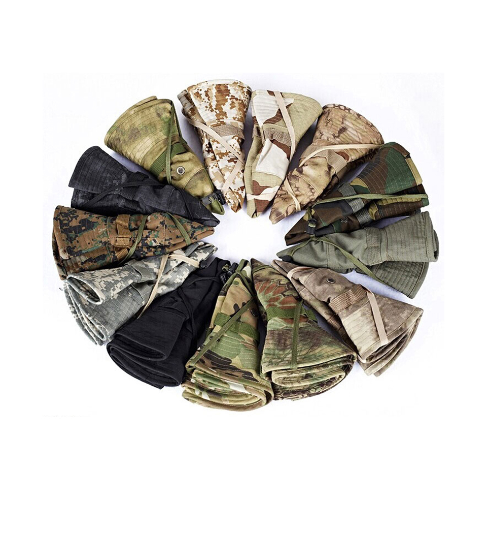 HTB1XnRzXJHO8KJjSZFtq6AhfXXa4 - Multicam Tactical Airsoft Sniper Camouflage Bucket Boonie Hats Nepalese Cap SWAT Army Panama Military Accessories Summer Men