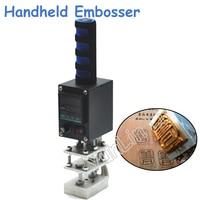 110V 220V 5 7cm Handheld Embosser Wood Hot Stamping Machine Leather Embossing Tool Manual Logo Electrical