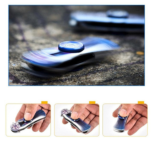 EDC Tools Outdoor Creative Hand Spinner 1PC Multi-Function Portable Folding Knife Spinner Gyro Toy Boy Gifts Fidget Spinners