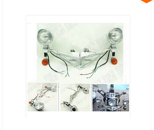 Driving turn light bar fog spot light for honda shadow spirit sabre driving turn light bar fog spot light for honda shadow spirit sabre aero ace steed vlx 400 600 1100 dlx vtx1300 1800 magna in bumpers chassis from aloadofball Image collections