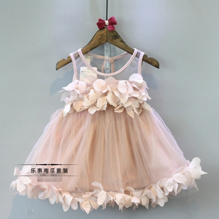 75e2b5d9f9ab Girls Summer New dresses baby 2017 fashion lace Tulle Princess Party ...