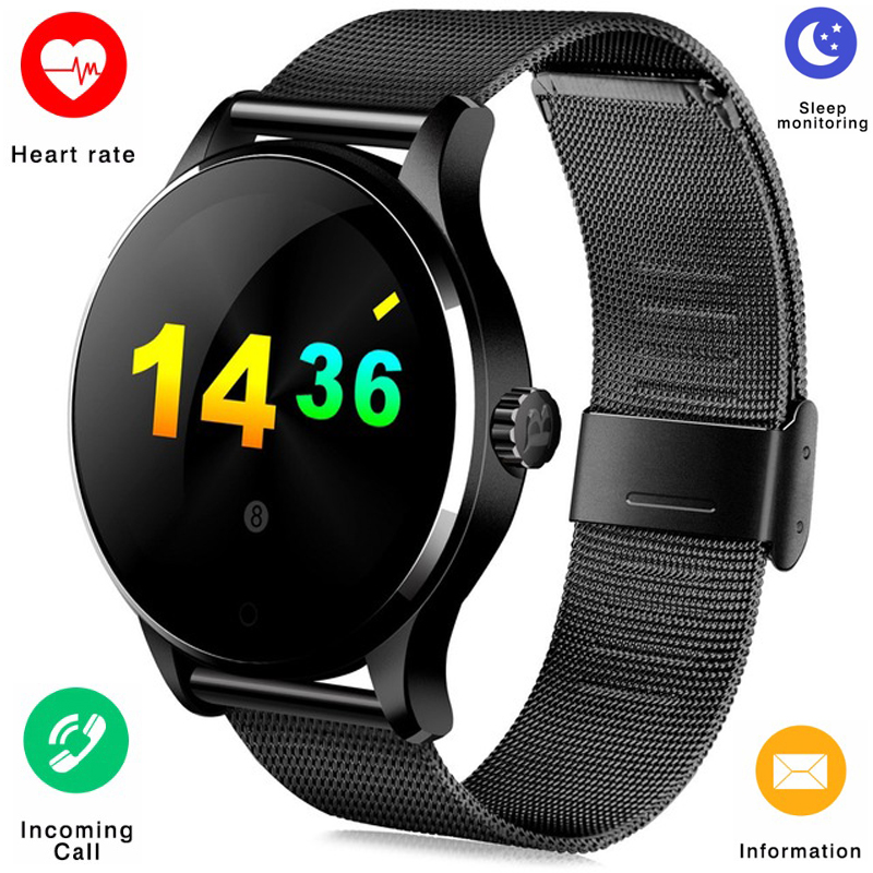 Smartwatch K88H Smart Watch HD Display Screen Heart Rate Monitor Sport Pedometer Fitness Tracker for Huawei Xiaomi IOS Android все цены