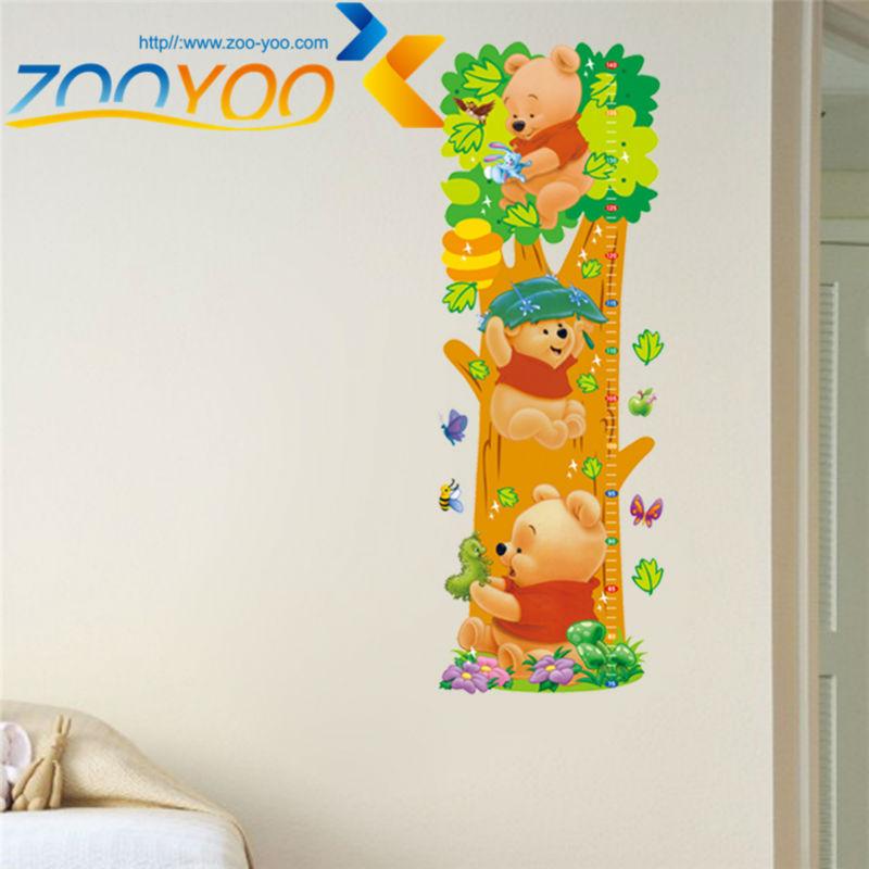 HTB1XnSqJFXXXXaeXFXXq6xXFXXXq - Animals zoo cartoon Winnie Pooh wall sticker for kids room