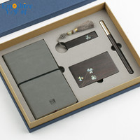 Notepad 16 GB USB Flash Drives Business Card Holder Roller Ball Pen Ballpoint Pen Set High end Business Office Gifts Custom P434