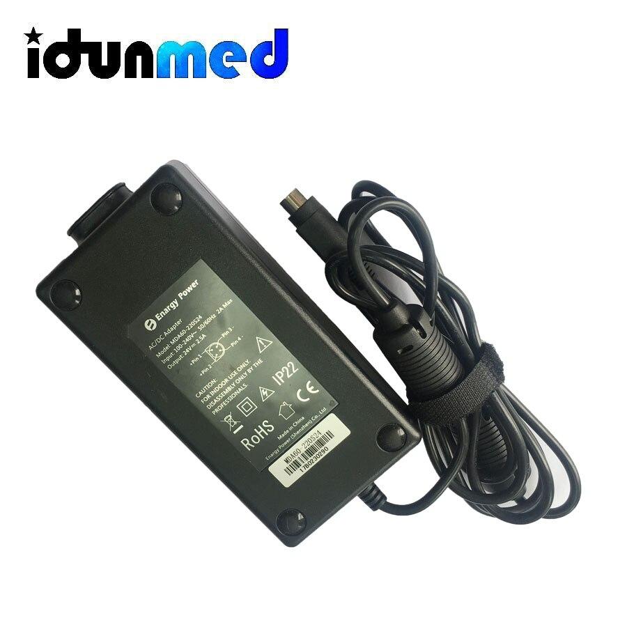 idunmed DC 24V Power Adapter For BMC CPAP APAP BPAP Machine Accessories