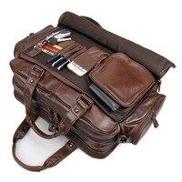 J.M.D Новое поступление мужские из натуральной кожи модные туристические, ручные сумки Сумка для ноутбука вещевые сумки 7150Q