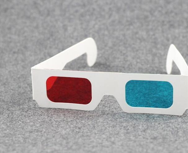 Paper 3D Glasses Red Blue Cyan 500pcs