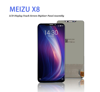 6.2inch  2220x1080  for meizu x8 Touch Screen with LCD Display Assembly  Screen For meizi M852Q Digitizer phone parts