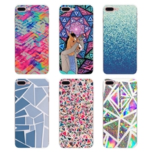THE END Triangle Ombre Mosaic Cover For iPhone XS Max XR X 4 4S 5 5S SE 6  6S 7 8 Plus 946cf40f21f0