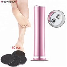 Rechargeable Wireless Electric Foot File Cuticle Callus Remover Machine Pedicure Tools Foot Heel Care Tool With Sandpaper Discs недорого