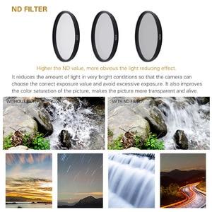 Image 3 - Hero5/6/7 カメラフィルターアルミアダプタ + UV CPL ND 2 4 8 フィルタ + キャップセット移動プロヒーロー 5 6 7 ブラック光学レンズアクセサリー