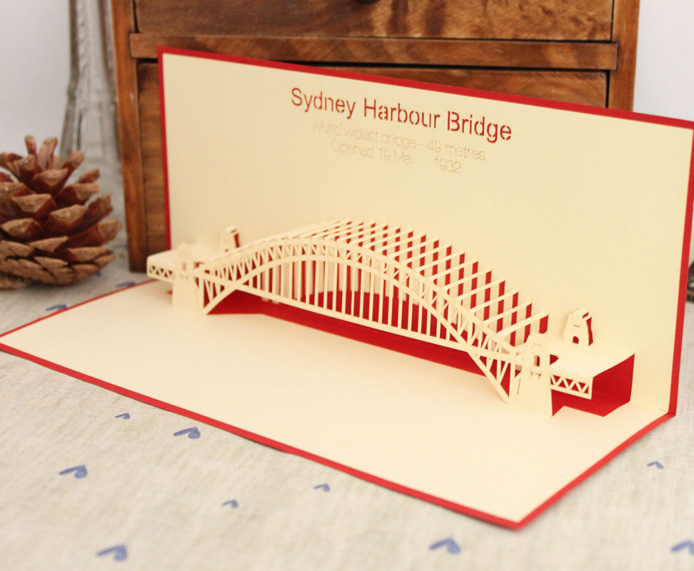 New year 2013 sydney bridge laser cut vintage 3d pop up cards paper new year 2013 sydney bridge laser cut vintage 3d pop up cards paper art decoupage postcards thankyou gift cards with envelope on aliexpress alibaba reheart Choice Image