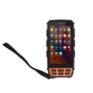 Image 2 - Lecteur dempreintes digitales UHF RFID HF LF Original Scanner de codes à barres Android WIFI Terminal portable collecteur de données téléphone étanche GPS
