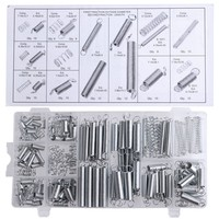 200PCS Set Practical Metal Tension Compresion Springs Assortment In 20 Sizes