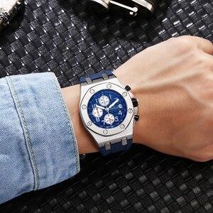 Image 3 - 2019 ONOLA Luxury brand Fashion Sports Military Mens Watches Wristwatch clock metal Waterproof multifunctional quartz watch Men