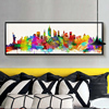 Statue Of Liberty 5D DIY Diamond Embroidery New York City Silhouette Cross Stitch Painting Mosaic Full