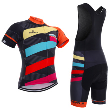 2017 racking team pro cycling jersey 5D gel pads bike shorts set couple special bicycling wear MTB cycle Maillot Culotte