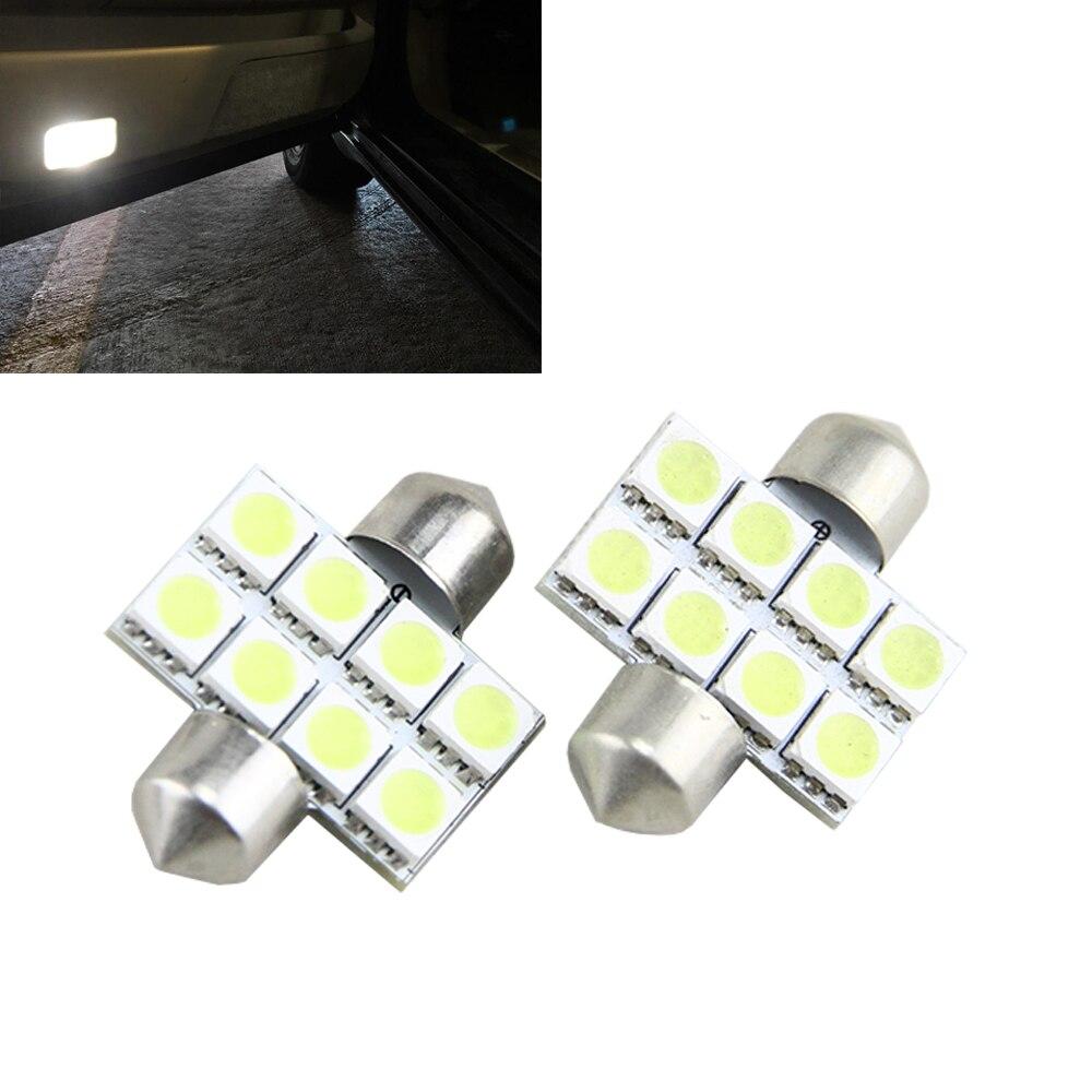 US $4 9 |4x Car Dome Light Lamp LED C5W 5050 smd 8 LED 1 25