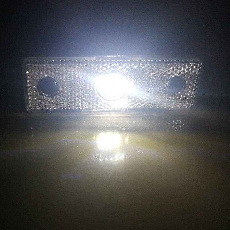 Image 4 - 2 pcs  AOHEWEI 3LED Trailer  white side marker position led Light 12 V 24 V for Trailer light led  marker light tail light truck-in Truck Light System from Automobiles & Motorcycles