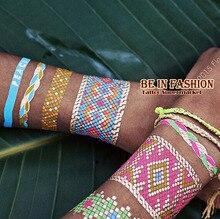 Перьев бодиарт tatto арабский хны металлик вспышкой жемчужина боди-арт индийский модный