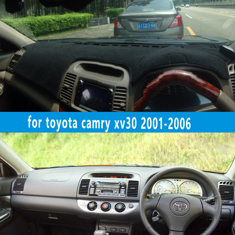 dashmats car-styling accessories dashboard cover for toyota camry xv30 Daihatsu Altis 2001 2002 2003 2004 2005 2006  RHD