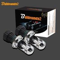 Buildreamen2 55 Watt Bi Xenon H4 Hallo/Lo Birne Dual Beam 12 V Auto Scheinwerfer Licht HID Controller Harness kabel Relais Draht 3000 Karat-12000 Karat