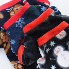 Lovely Christmas Dog Warmer Sweater Cotton Costume
