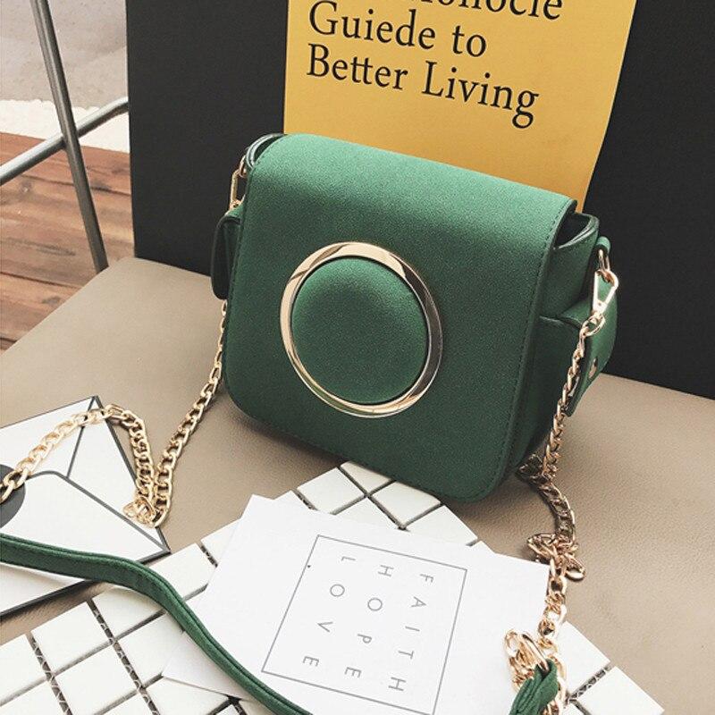 f1b967cf6921 UKQLING Brand Women Messenger Bags Small Flap Crossbody Bag for Women Purse  Chain Casual Handbag Designer Sac a Main Bolsas-in Crossbody Bags from  Luggage ...