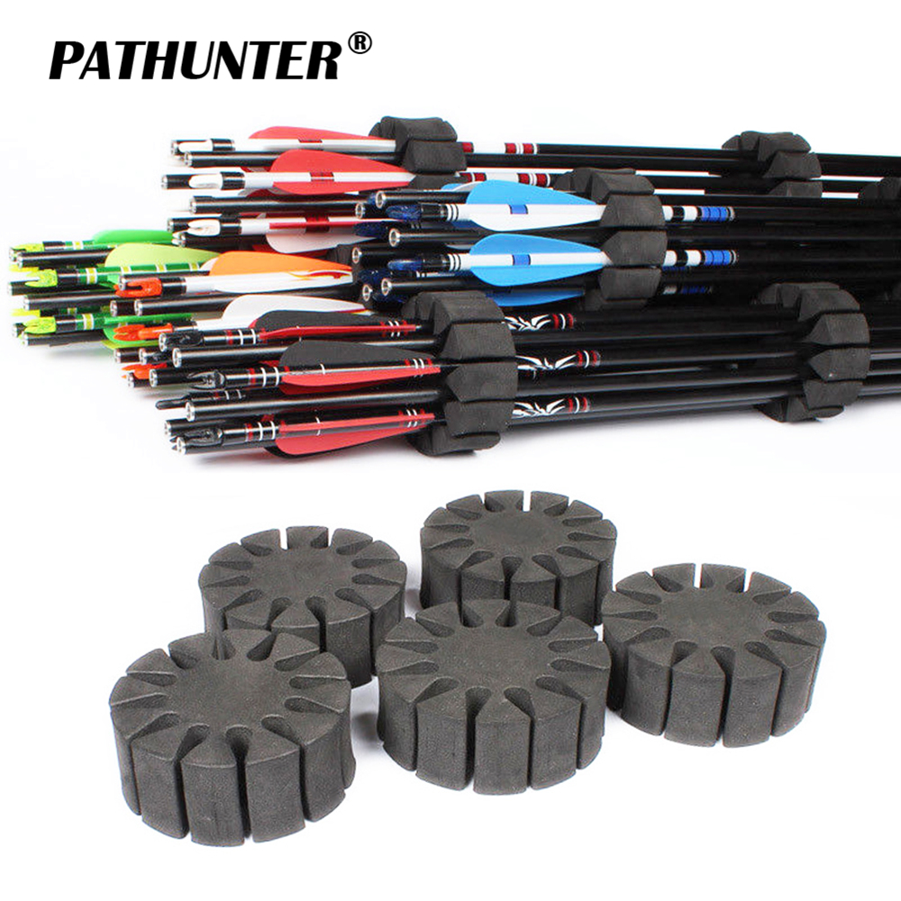 3/6/9PC/LOT Archery Arrow Holder EVA Foam Round Rack 12 Arrows Separator Quiver Protection Spliter Shelf Bow Hunting Shooting