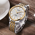 Mode Mens Quarts Uhren Edelstahl Armbanduhr 2018 Herren Uhren Top Marke Luxus Uhr Uhr Relogio Masculino-in Quarz-Uhren aus Uhren bei