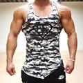Singlets tanque dos homens tops gymshark homens estilo militar camuflagem homens colete de camuflagem sexy clothing