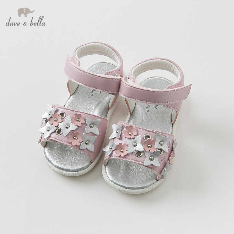 52c55410633 Dave Bella summer baby girl sandals new born infant shoes girl sandals  Princesss shoes DB10242