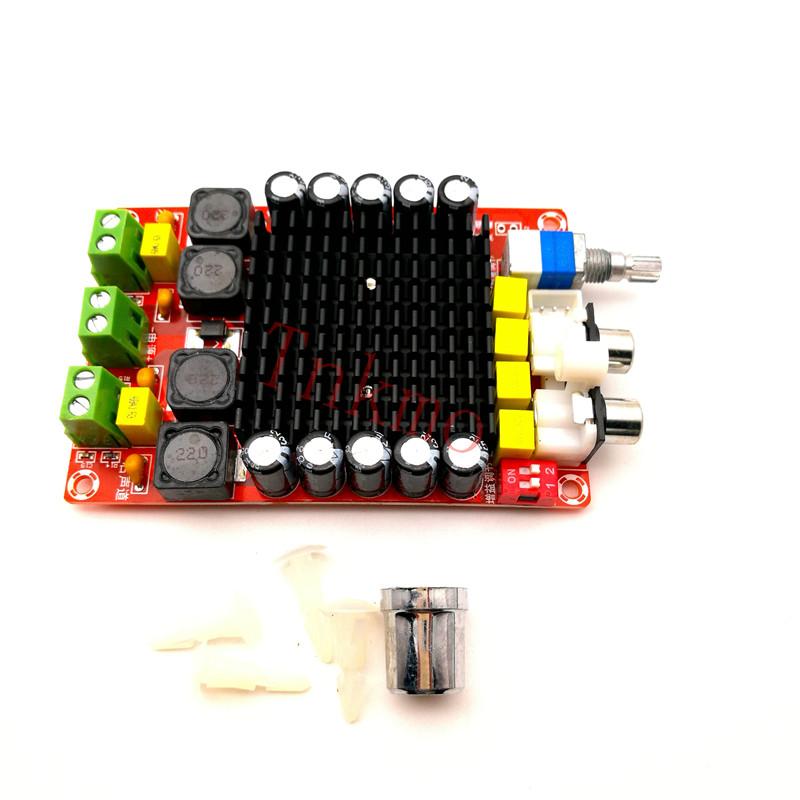 1 PZ TDA7498 DC 14-34 V Bordo Amplificatore di Classe D 2X100 W Doppio Canale Audio Bordo Amplificatore Stereo XH-M510