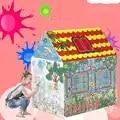 2018 Nieuwe Kinderen Speelgoed Tenten Kids Play Tent Jongen Meisje Prinses Kasteel Indoor Outdoor Kids Play House Bal Pit Pool speelhuisje voor Kinderen