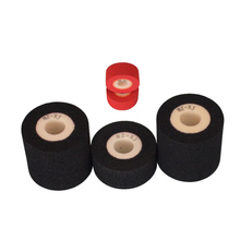 Black Diameter 36mm Height 32mm hot quick coder ink rolls for printing machine