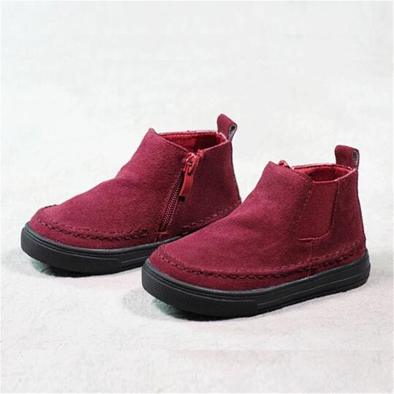 Girls Boots Children Martin Boots Fashion New Spring Autumn Snow PU Leather Waterproof First Walkers Boys Girls Children Shoes от Aliexpress INT