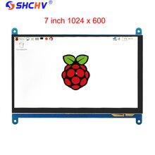 7 Zoll Raspberry Pi 3 Touchscreen 1024*600 LCD Display HDMI Schnittstelle TFT Monitor Modul Kompatibel Raspberry Pi 2 Modell B