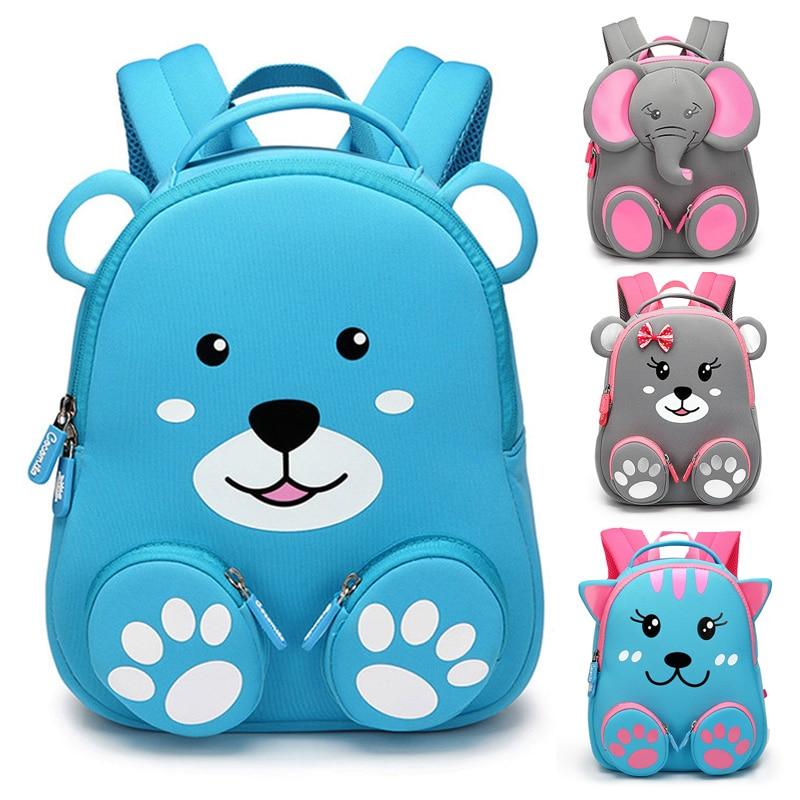 Kid Girls Boys Cute Cartoon Animal Fashion Backpack School Bags Rucksack Toddler