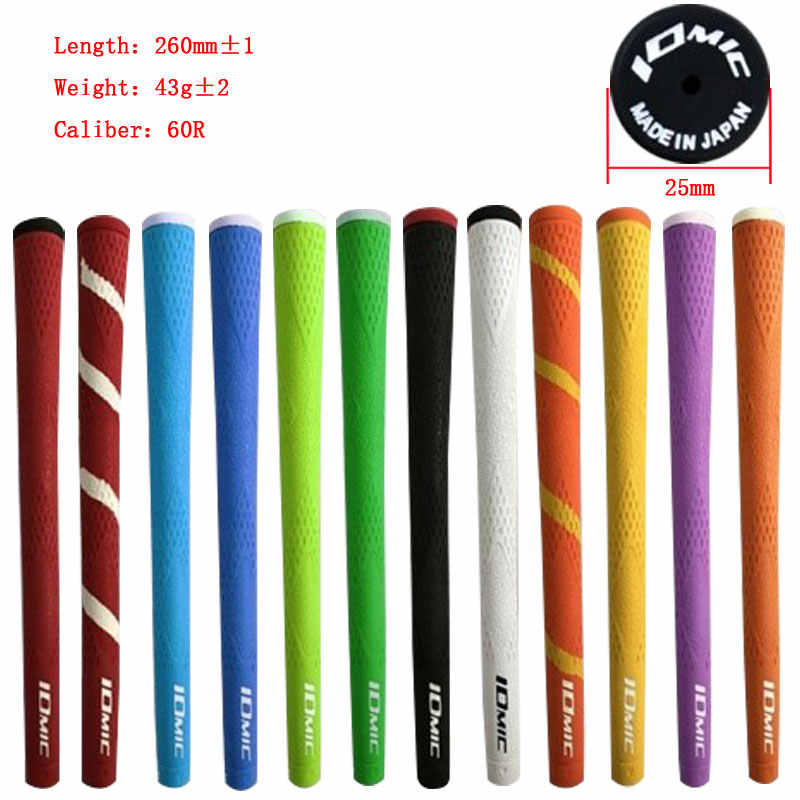 IOMIC Golf  grip rubber Golf irons grips 12 colors in choice 10pcs/lot Golf clubs grips Free shipping