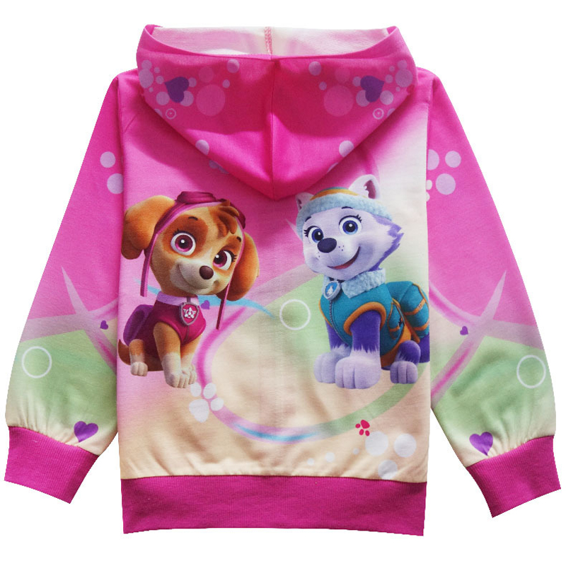 2018 child cartoon Sweatshirt Hoodies For Girls Long Sleeve T-shirt For Boys Baby Girls Clothes Spring Sport T-shirts Boys 1