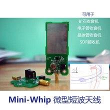 Sdr-Antenna Radio-Tube Mini-Whip Shortwave for Ore Transistor RTL-SDR Receive RTL-SDR