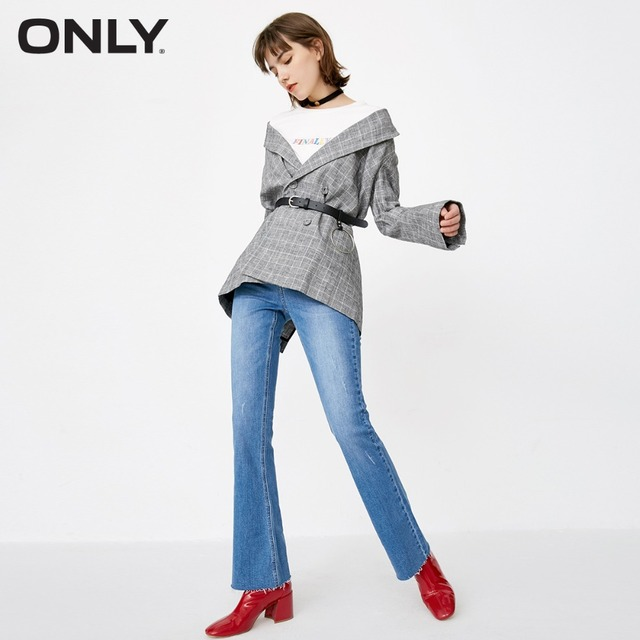 ONLY women's spring new wave point BF jeans | 118132560