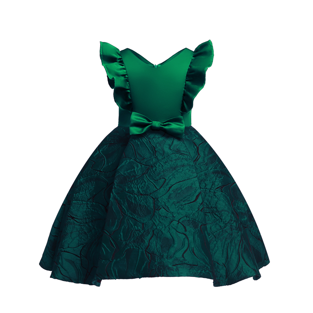 Floral Girl Dresses 2019 Summer Princess Costumes Wedding Child Clothing Ruffles Kids Dress For Girls Formal Prom Gowns 10 Years (13)
