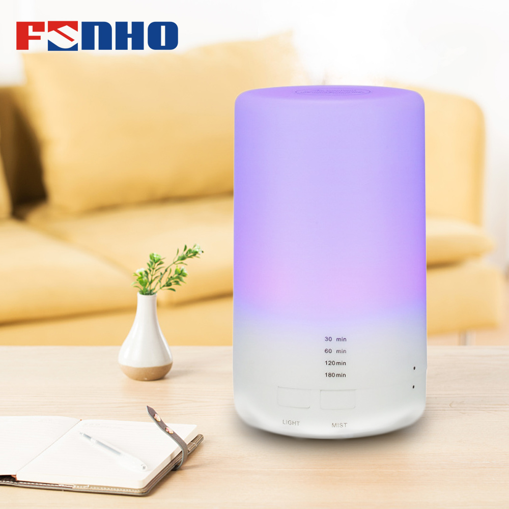 FUNHO Electric Aroma Essential Oil Diffuser Ultrasonic Air Humidifier Grain Aromatherapy Essential Oil Cool Mist Humidifier(China)