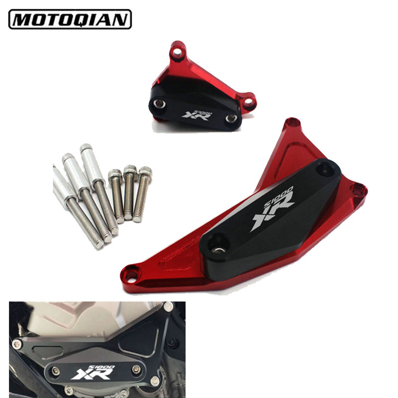 For BMW S1000XR HP4 S1000 XR S 1000XR Motorcycle Accessories CNC Engine Guard Left Right Engine Cover Crash Protector PadsFor BMW S1000XR HP4 S1000 XR S 1000XR Motorcycle Accessories CNC Engine Guard Left Right Engine Cover Crash Protector Pads